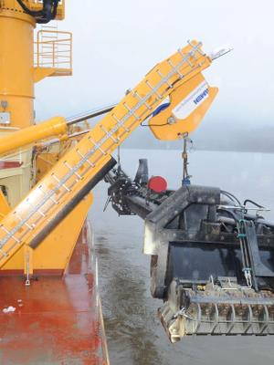 Hydraulic cylinders for dredging equipment